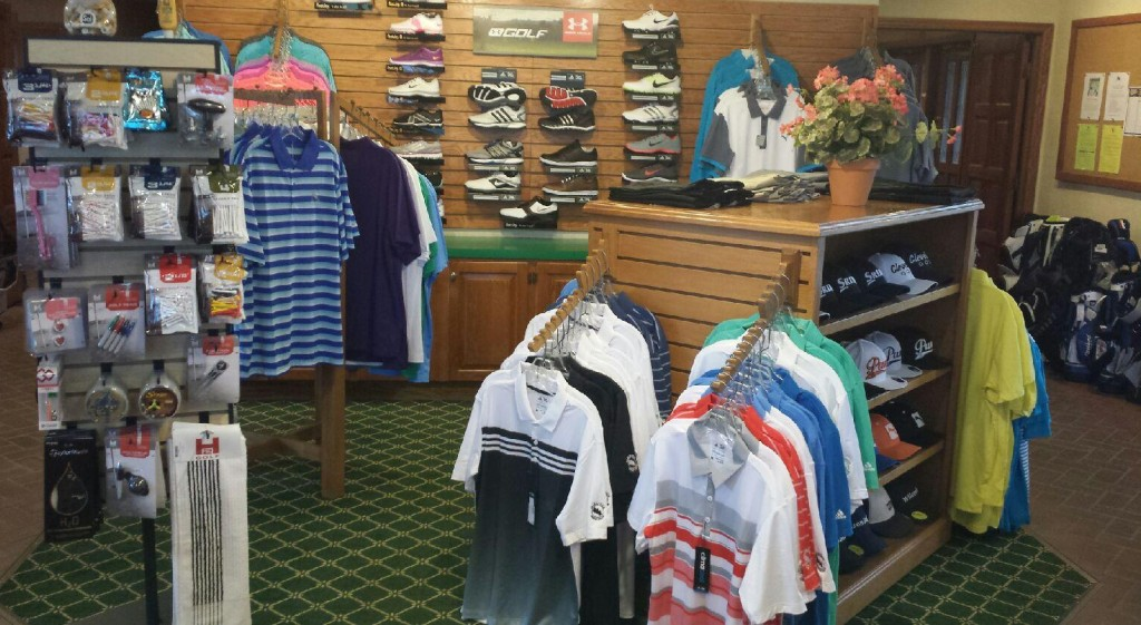 4c0587cec Saskatoon Golf Club offers a wide selection of name brand golf apparel,  golf balls, putters, wedges, and other golf supplies. The South Pro Shop ...